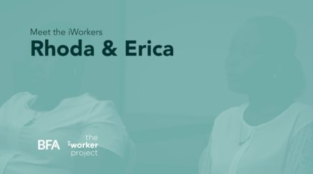Meet the iWorkers – Rhoda & Erica