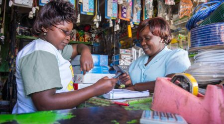 Rethinking Financial Inclusion Through Small Businesses and their Smartphones