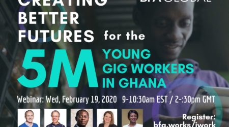 Webinar: Creating Better Futures for the 5 Million Young Gig Workers in Ghana