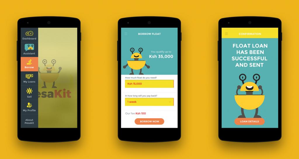 Pesakit mobile money agent app