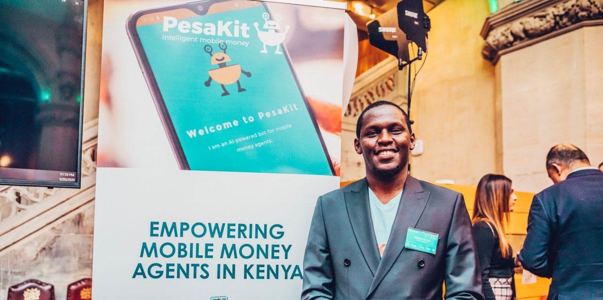 Pesakit CEO Andrew Matua at Catalyst Fund launch