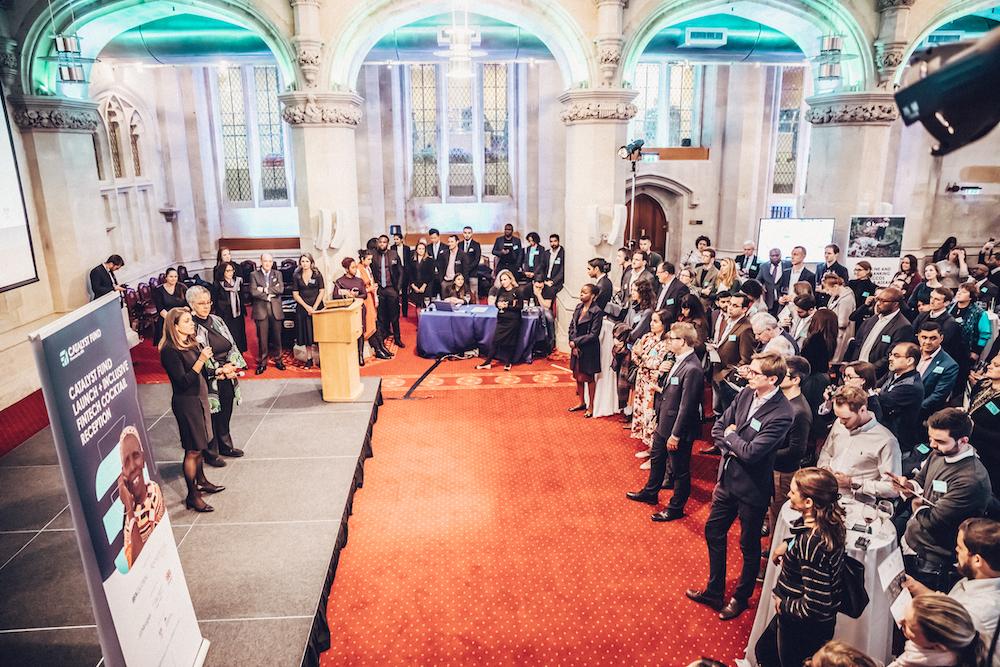 launch reception inclusive fintech