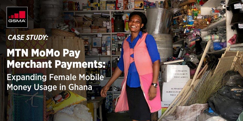 GSMA Momopay women's mobile money