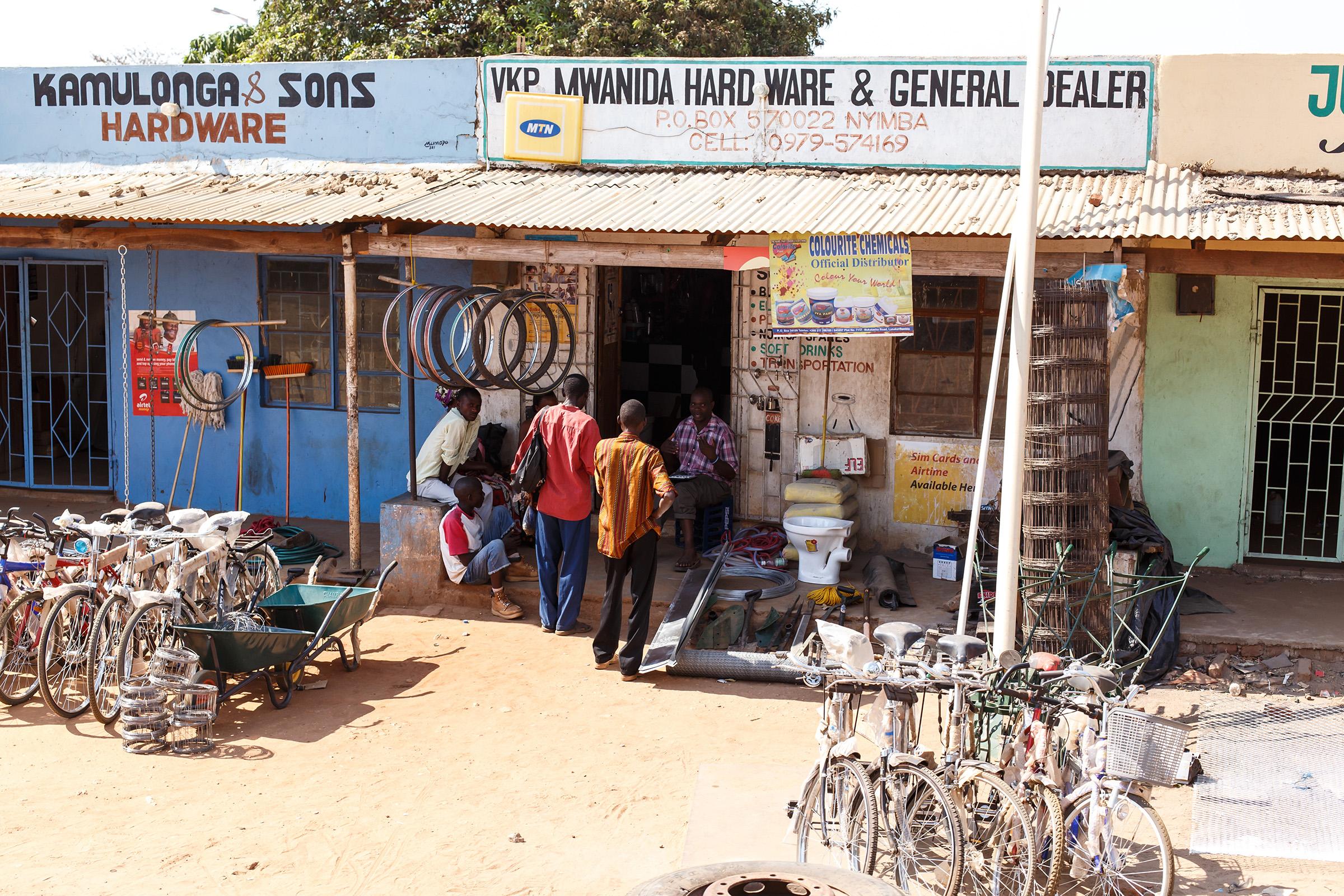 ZAMBIA small business merchant