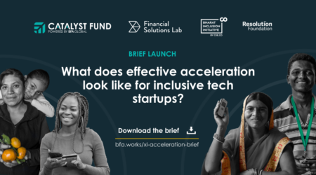 Brief: What does effective acceleration look like for inclusive tech startups?