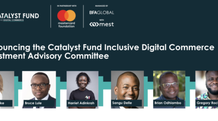 Press Release: MSEs in Ghana to benefit as leading West African investors, and founders join as expert advisors to the Catalyst Fund Inclusive Digital Commerce Accelerator