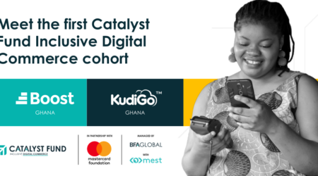 Press release: Boost Ghana and KudiGo selected as the first cohort of the Catalyst Fund Inclusive Digital Commerce accelerator