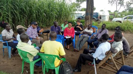 Linking refugees to formal financial services